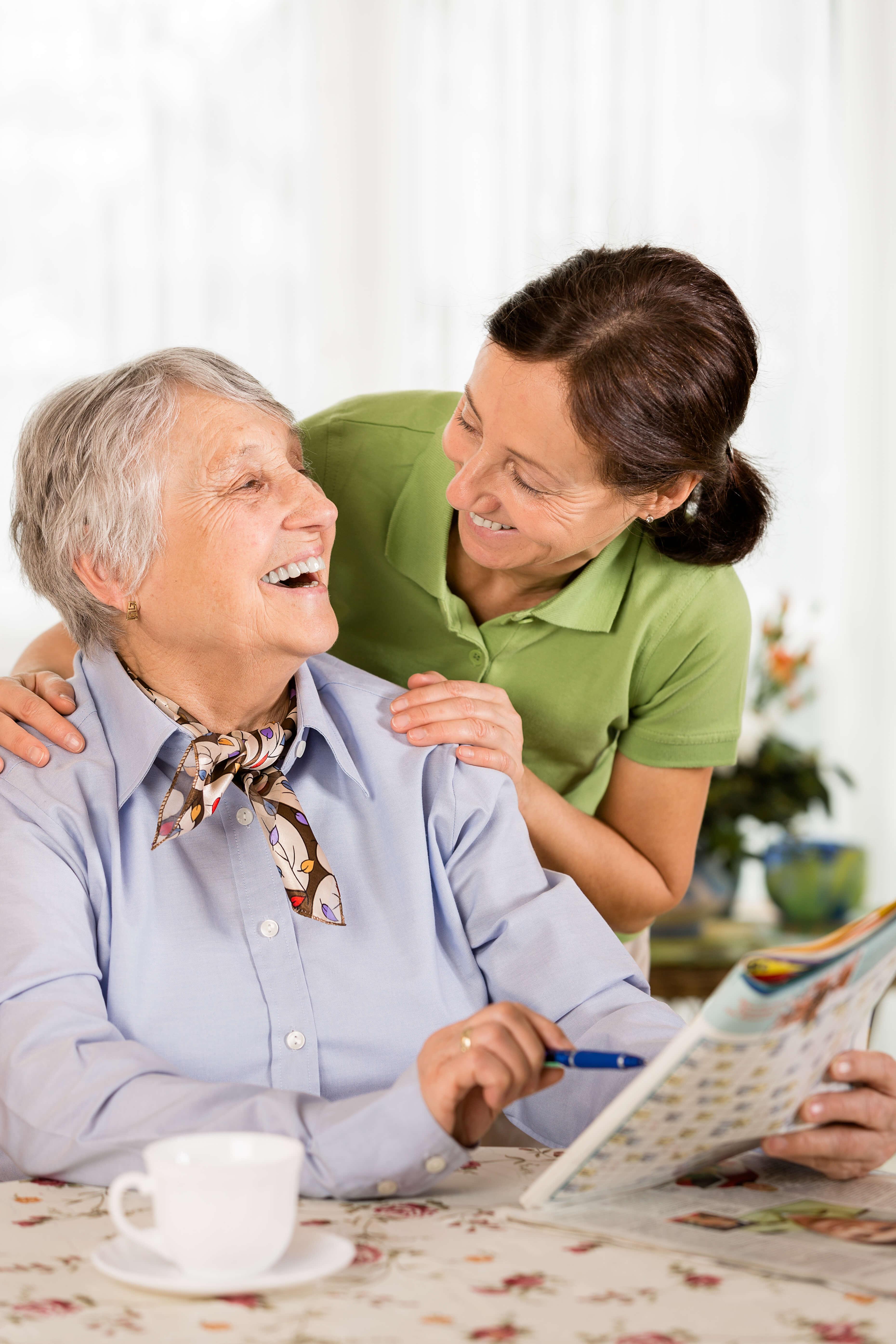 Wer sich entscheidet einen Angehörigen zu pflegen nimmt eine große Aufgabe an